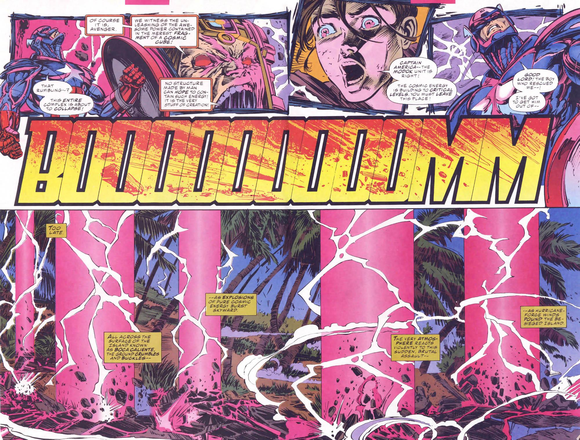 Captain America (1968) Issue #441b #395 - English 3