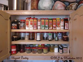 Pretty kitchen cupboard