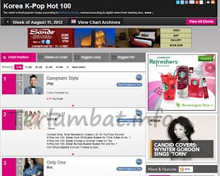Lagu Korea Terbaru Agustus 2012