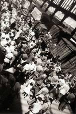 Estación del Norte. Regreso a Madrid de las obras del Museo del Prado. 9 de septiembre de 1939. Archivo Regional de la Comunidad de Madrid. Colección Fotográfica Martín Santos Yubero. Madrid.