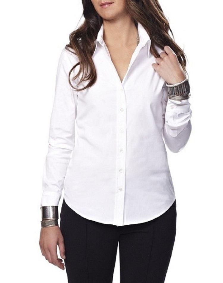Model Baju Kemeja Putih Wanita Terkini