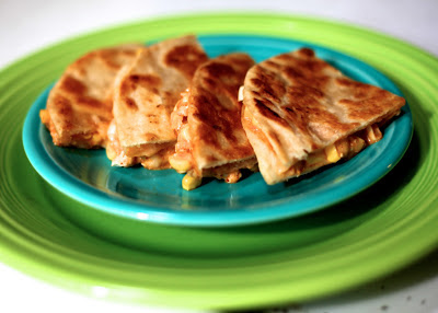 Elote Quesadillas