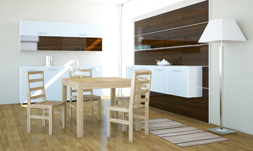 Lg lesmo tavoli salvaspazio alla mostra dell 39 artigianato - Tavolo cucina piccolo ...