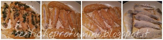 Filetti di gallinella con cuore di capperi e prezzemolo