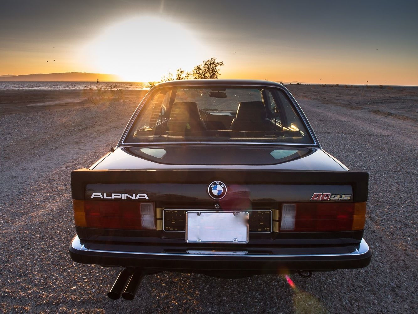 1986 Alpina B6 3 5 Based On The Bmw E30 For How Much On Ebay