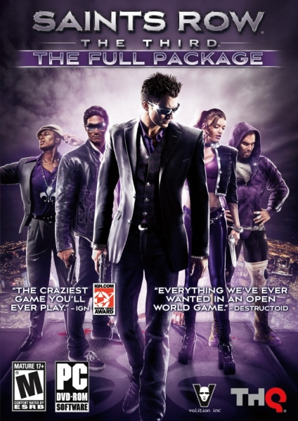Saints Row The Third Complete Collection-SCRiN