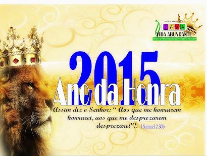 2015 - ANO DA HONRA