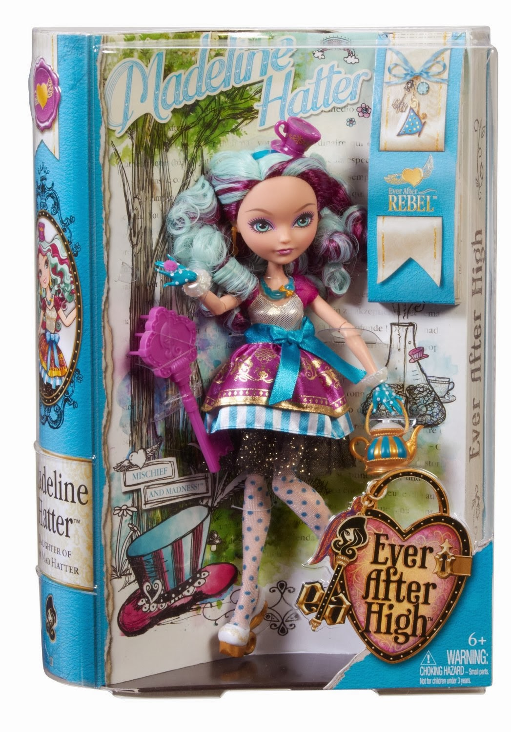 TOYS: Madeline Hatter : Ever After High | DOLL | MUÑECA | Nueva | Bran New