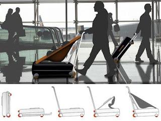 Samsonite maleta carrito bebé