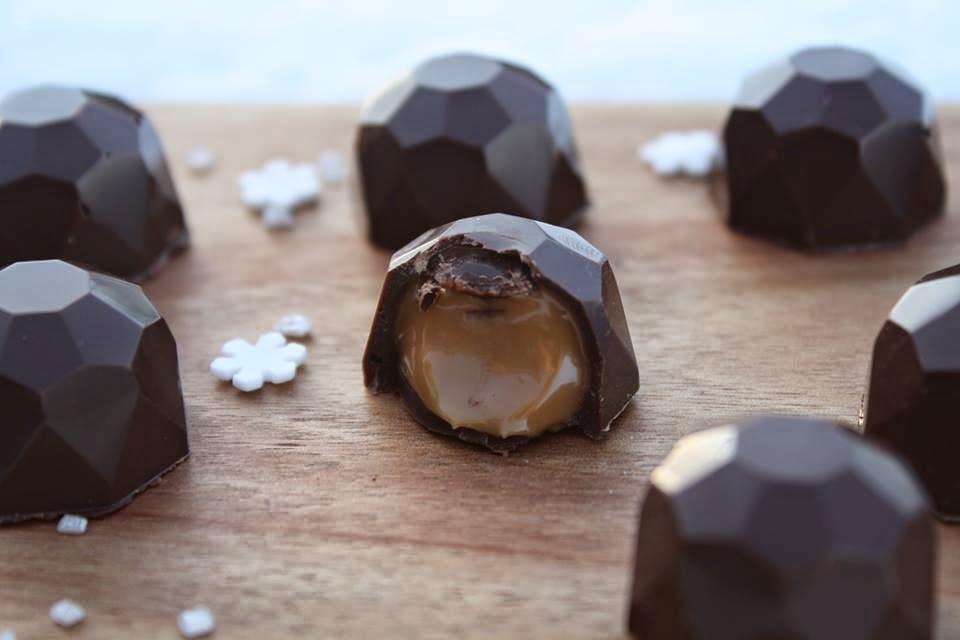chokoladeform mette blomsterberg