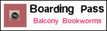 "Boarding Pass ""Balcony Bookworms"""