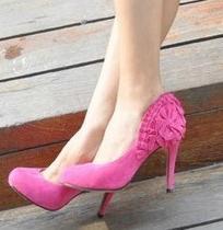 sapatos rosa para noivas