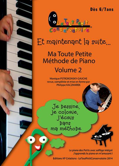 ma toute petite methode de piano vol 2
