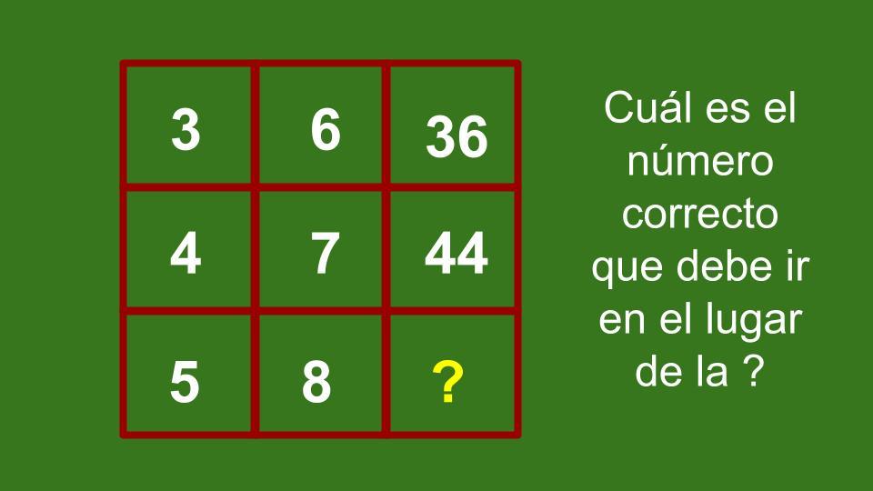 Razonamiento lógico matemático: ejercicios ~ Inténtalo !!!