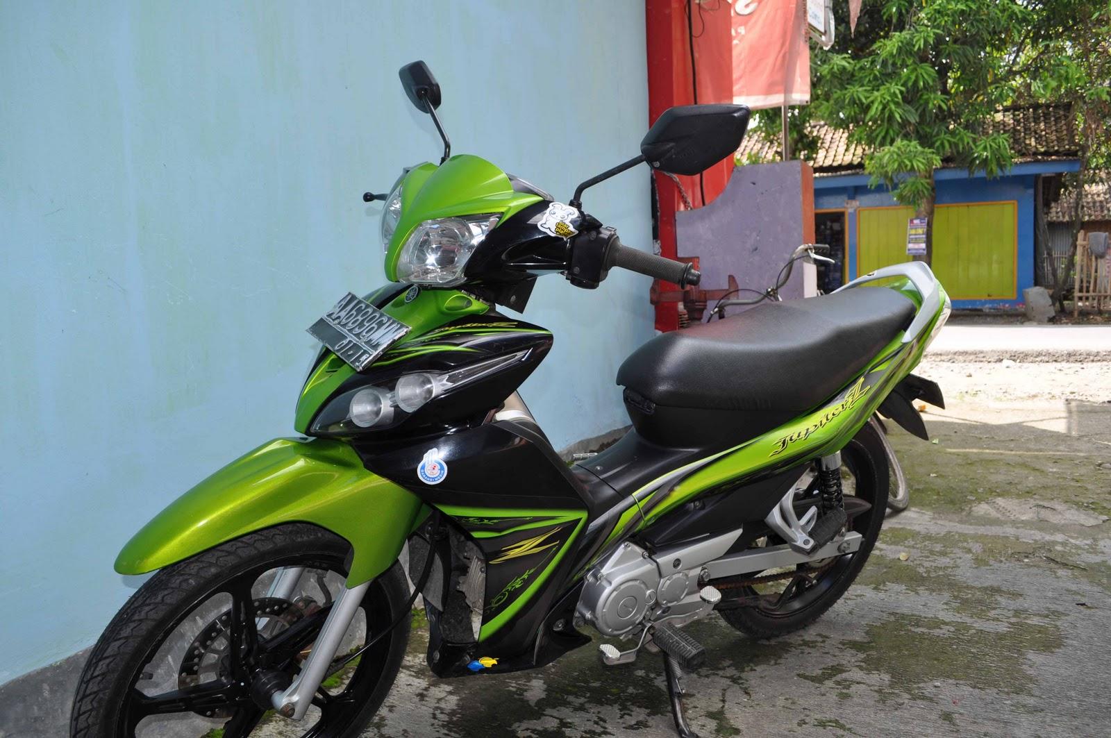 Yamaha Jupiter Z Hijau
