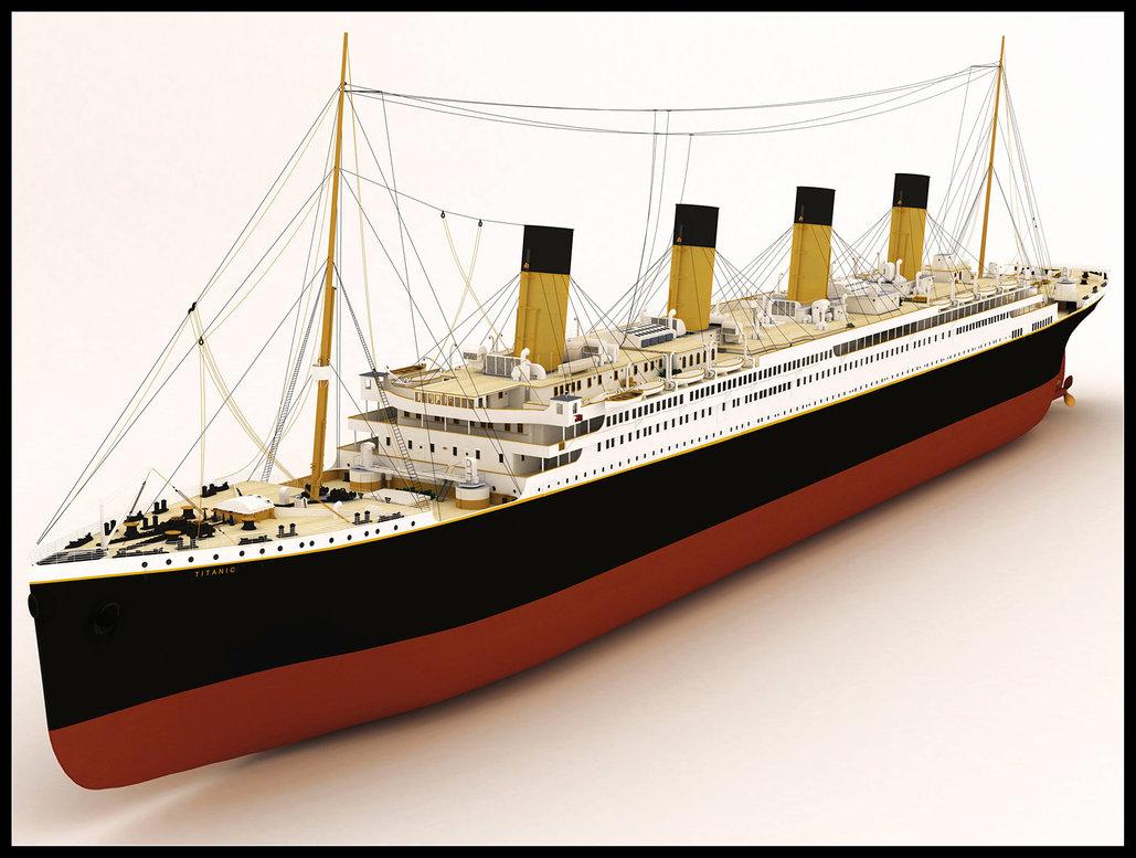 Hercolano2: TITANIC - Deckplans