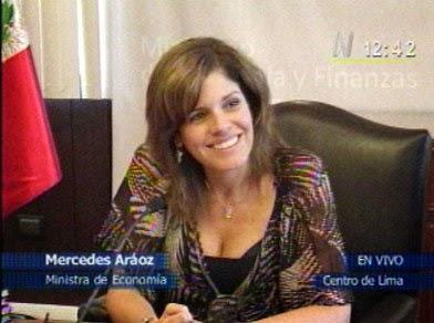 politisi terseksi Mercedes Araoz