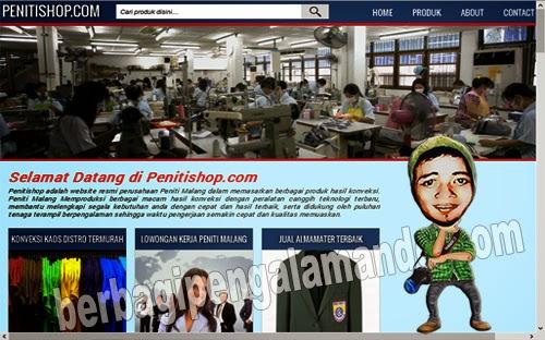 Penitishop.com Jual Almamater Terbaik_Judul