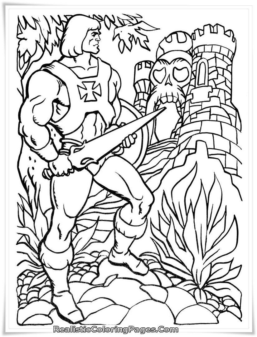 Printable Coloring Pages Of Barbie And The Diamond Castle Realistic