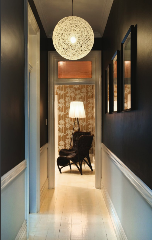 Decorology lots of fabulous entry and hallway inspiration - Repeindre un couloir sombre ...