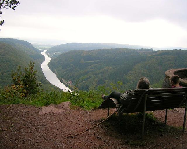 Saar Hunsrück Steig schönste Etappe, schönste Aussicht beim Wandern, Kurzurlaub