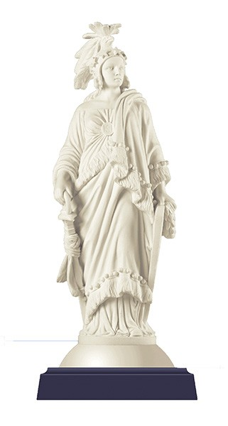 Statue of Freedom  By Thomas Crawford - U.S. Capitol