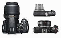aparat foto - DSLR Compact Mirrorless