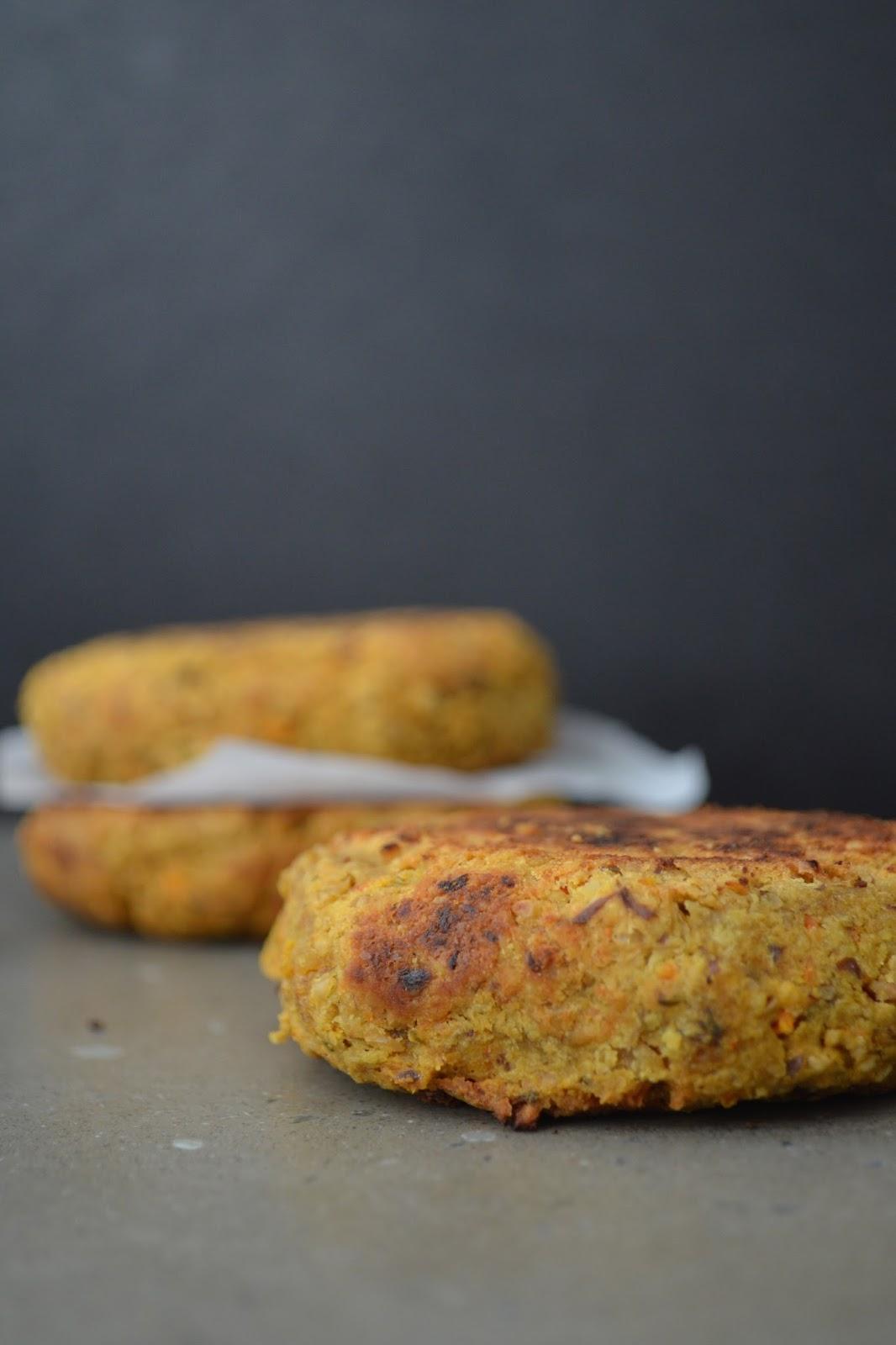 Gluten Free Vegan Chickpea Veggie Burgers