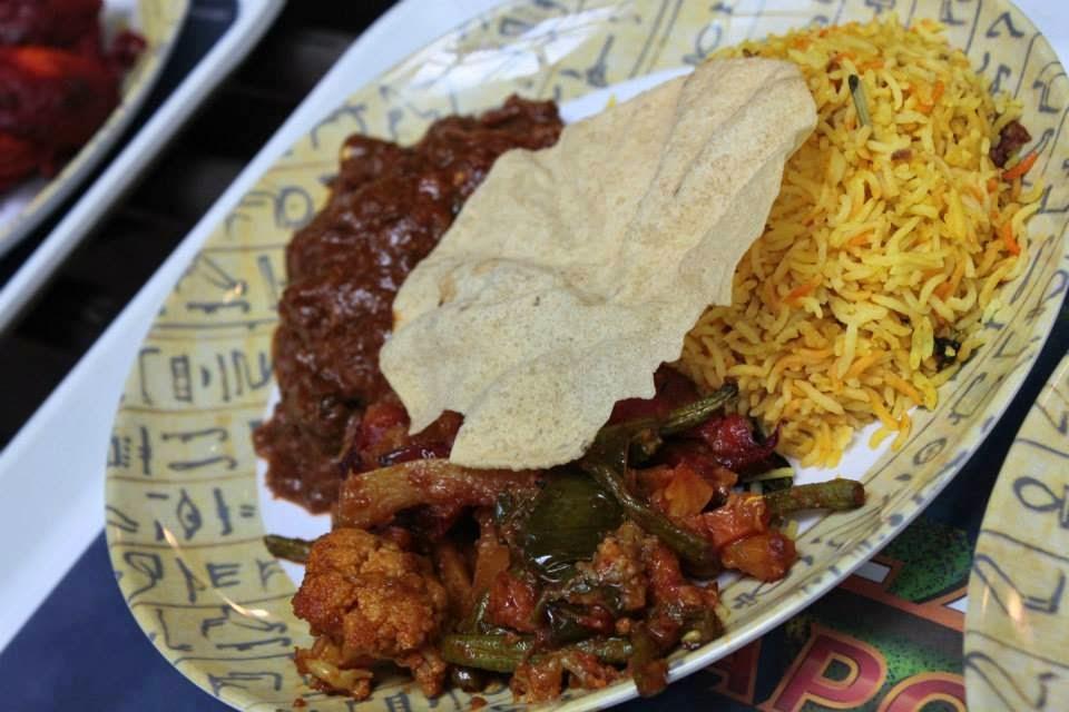 Indian Dish @ Universal Studio Singapore