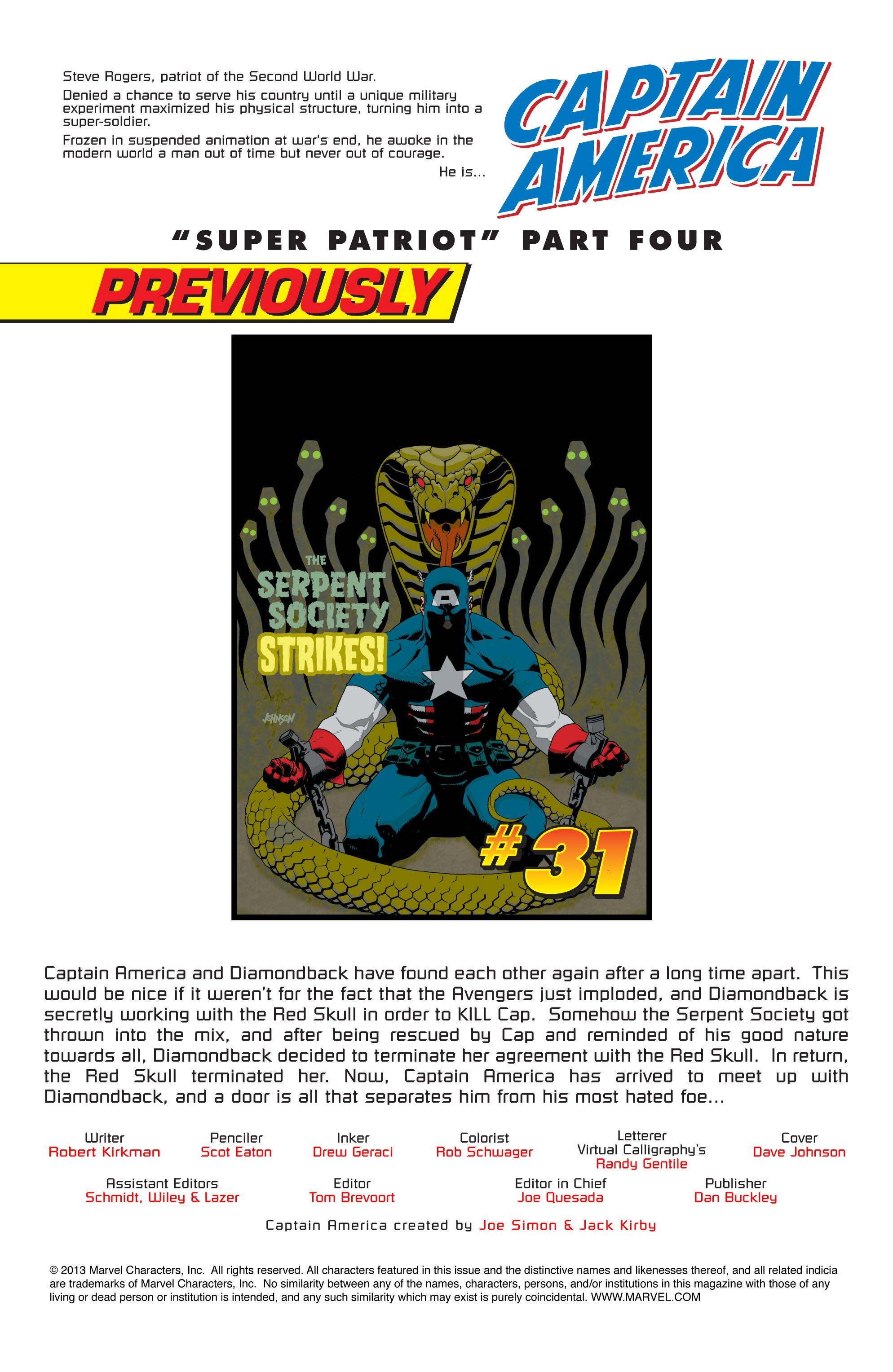 Captain America (2002) Issue #32 #33 - English 2