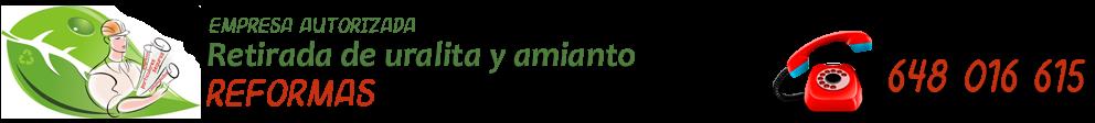 ECOREFORMAS - 648 016 615 - RETIRADA DE URALITA, AMIANTO Y FIBROCEMENTO EN JAÉN