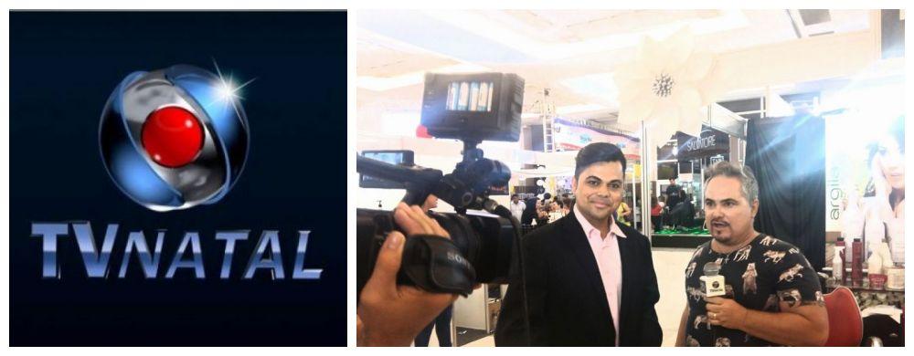 TV DE MAIOR AUDIÊNCIA (TV NATAL), ENTREVISTOU A GRANDE CELEBRIDADE DO EVENTO - MAYKON MENEZES: