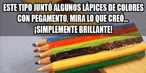 como hacer un anillo con lápices de colores