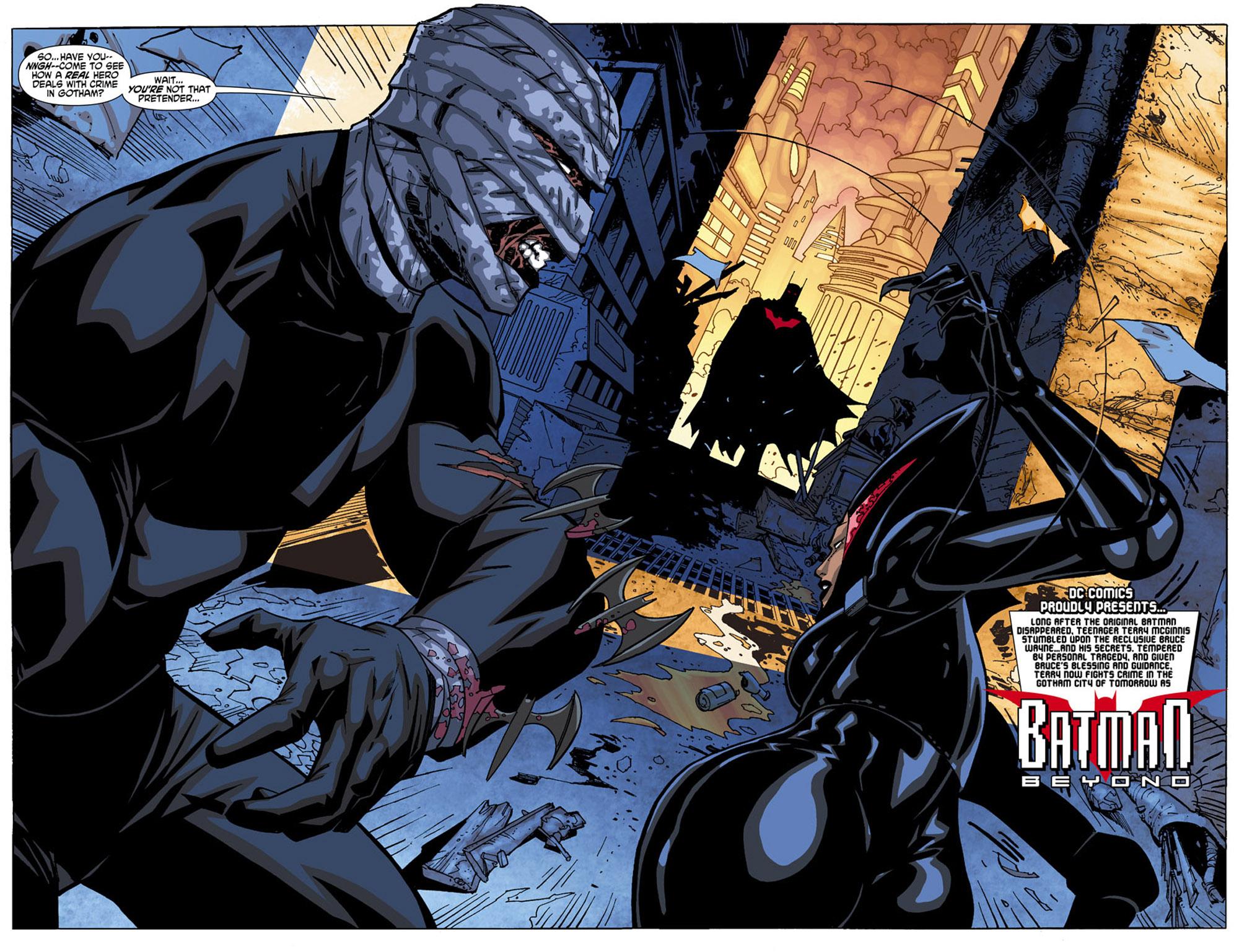 Batman Beyond (2010) Issue #4 #4 - English 3