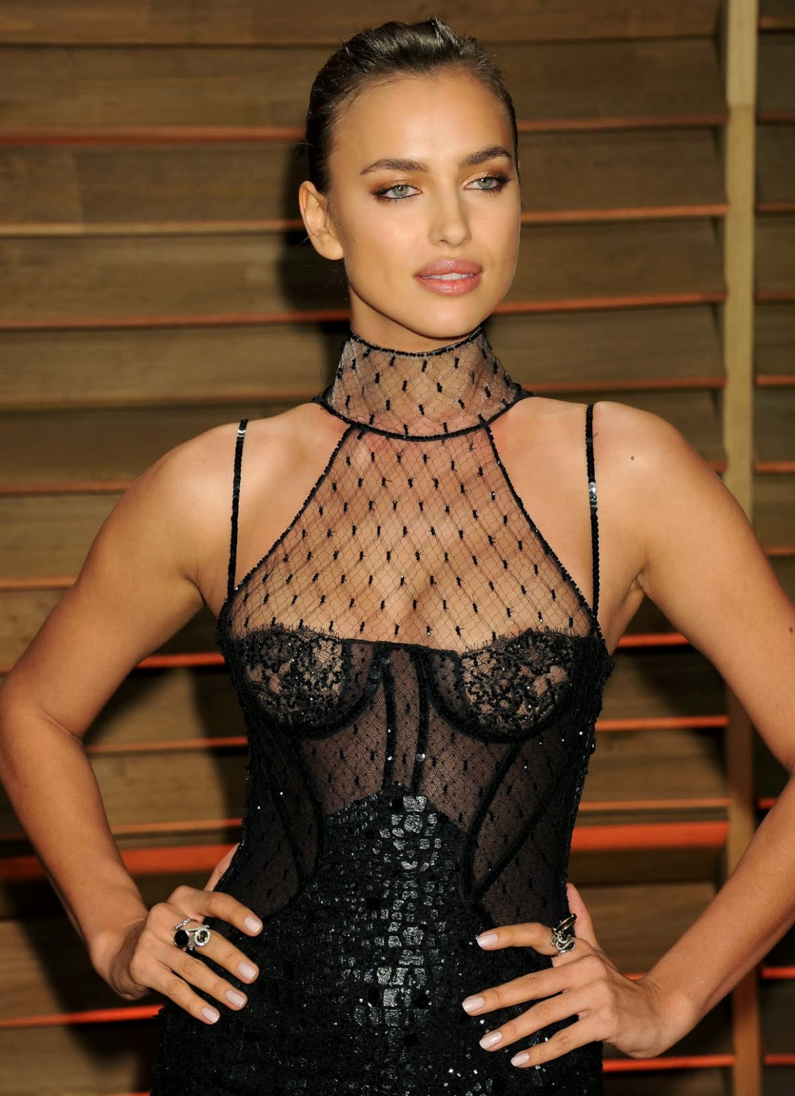 Hot celebrity Irina Shayk sexy stunning beauty