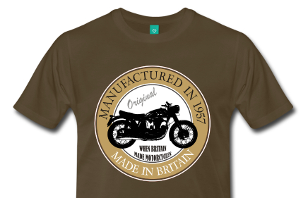 Manufactured in 1957 Motorcycle T-Shirt