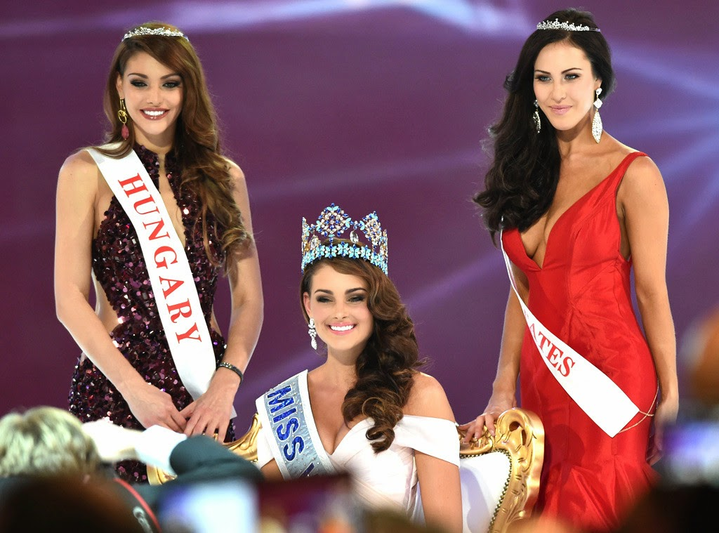 Miss World 2014 Grand Winner Miss South Africa Rolene Strauss