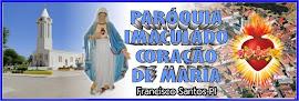 Clique na imagem para acessar o blog da paróquia de Francisco Santos