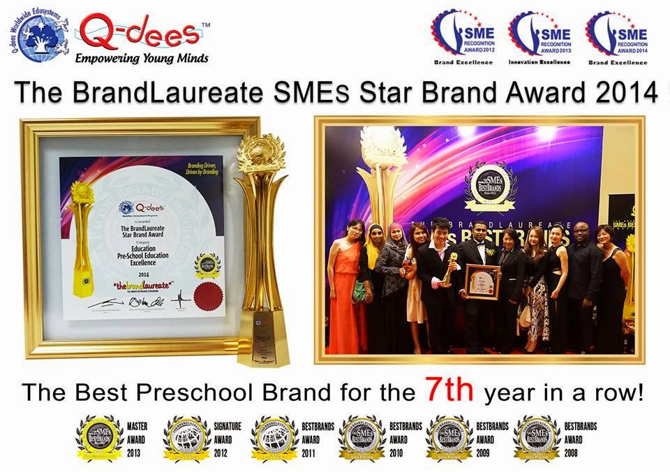 The Best Preschool Brand for the 7th year in a row !