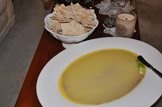 Melting butter over chicken liver pate