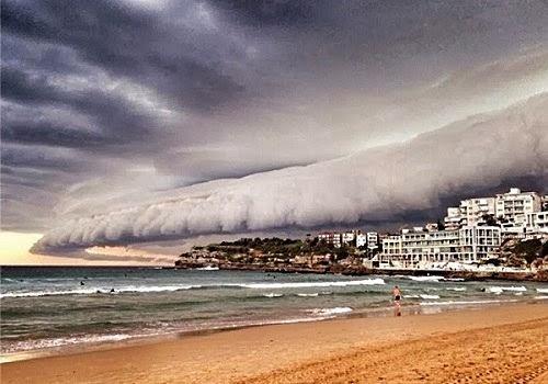 impresionante tormenta