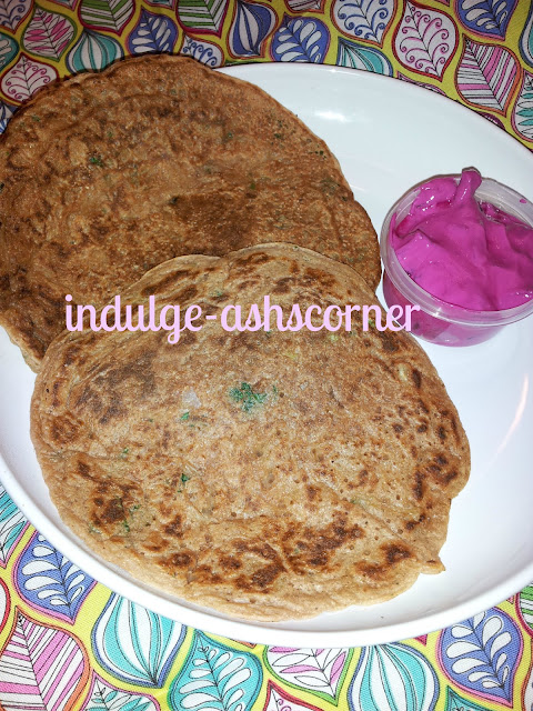 Eggless Squash Chilla with whole wheat