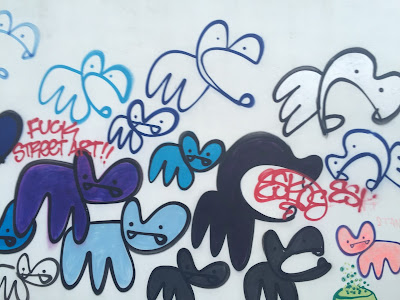Reykjavik Mural Creatures