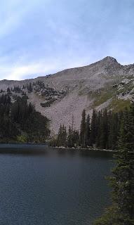 Red Pine Lake Alta Utah