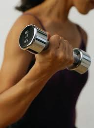Eu faço musculação