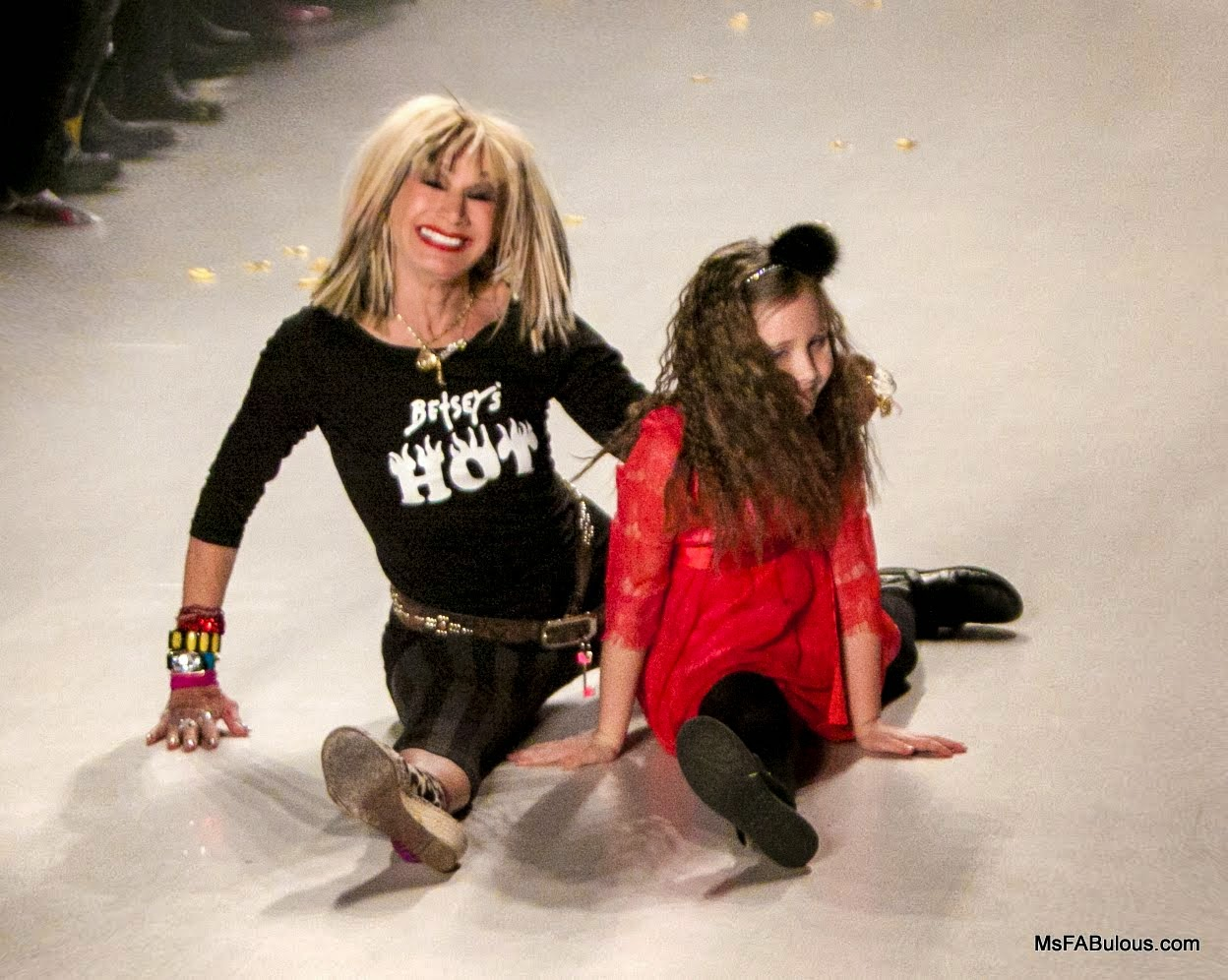 betsey johnson granddaughter