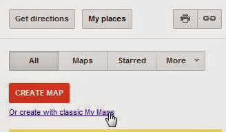 Create with classic my map
