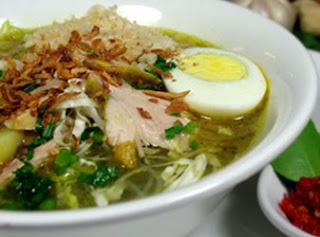 Classic Indonesian Chicken Soup (Soto Ayam)