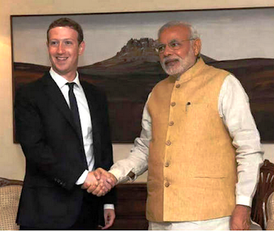 Mr Modi To Ask Mr Zuckerberg