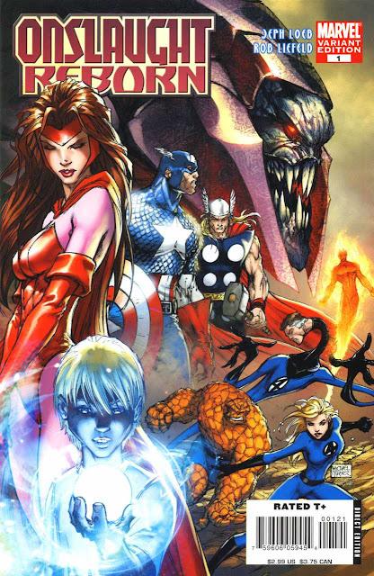Onslaught Reborn, Comic, Marvel, Descarga, Español